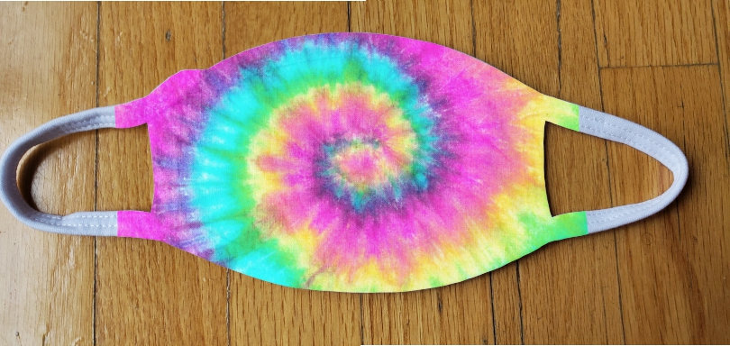 Tie Dye Fashion Cover