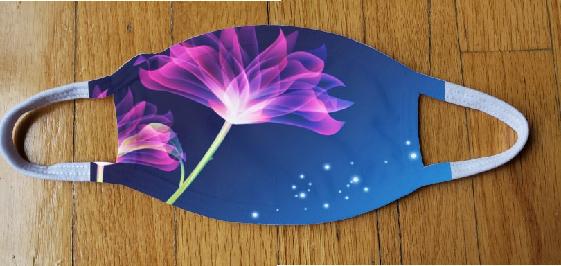 Fluorescent Flower Fashion Cover