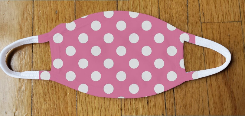 Bubble Gum Polka Fashion Cover
