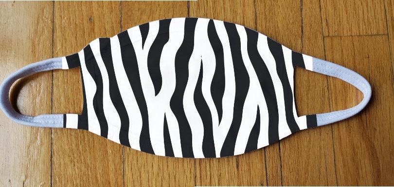 Zebra Print Fashion Cover