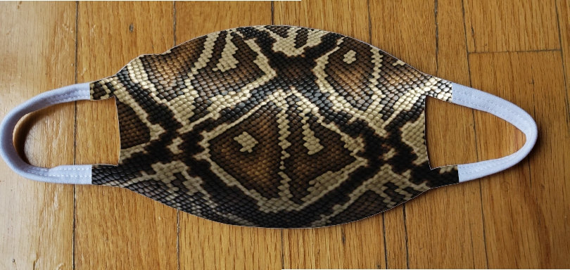 Snake Skin Fashion Cover