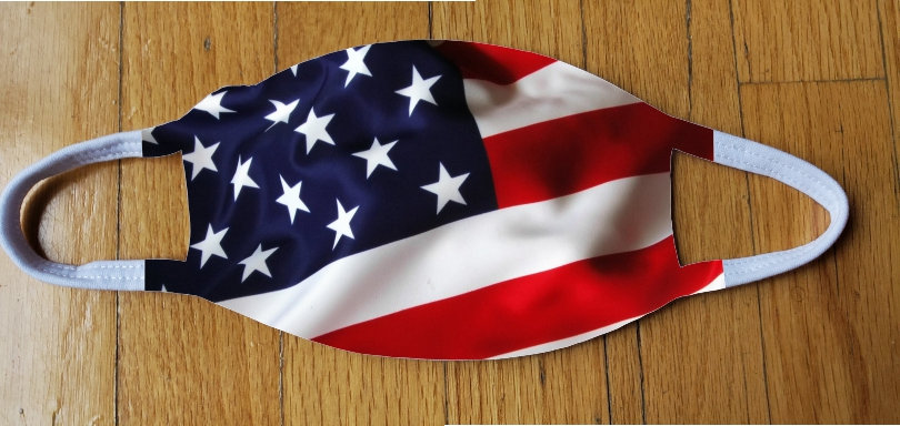USA Flag Fashion Cover