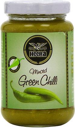 Heera Minced Green Chilli Paste 210g
