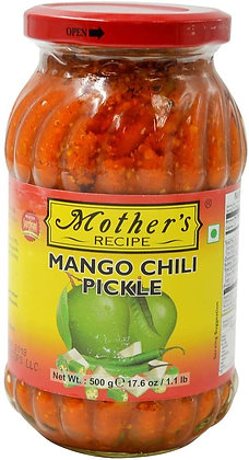 Mothers Mango N Chilli Pickle 500g