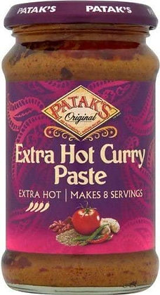 Patak - Extra Hot Curry Paste 283g
