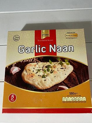Garlic Naan Crown - 5 pieces