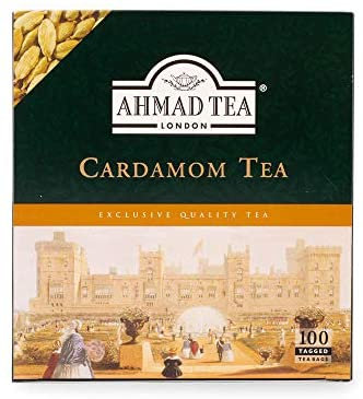 Ahmed Tea - Cardamom Tea 100 bags