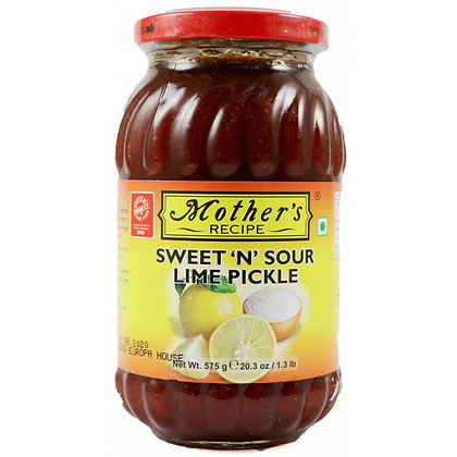 Mothers Sweet N Sour Lime Pickle 500g