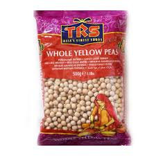 TRS Whole Yellow Peas 500g