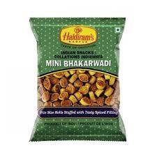 Hadiram's Indian Snacks Mini Bhakarwadi 150g