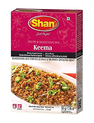 SHAN KEEMA CURRY MIX 50g
