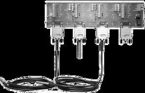 OMNI SENSORS - Hutschienenadapter Schaltschrankmontage SPS Transmitter System