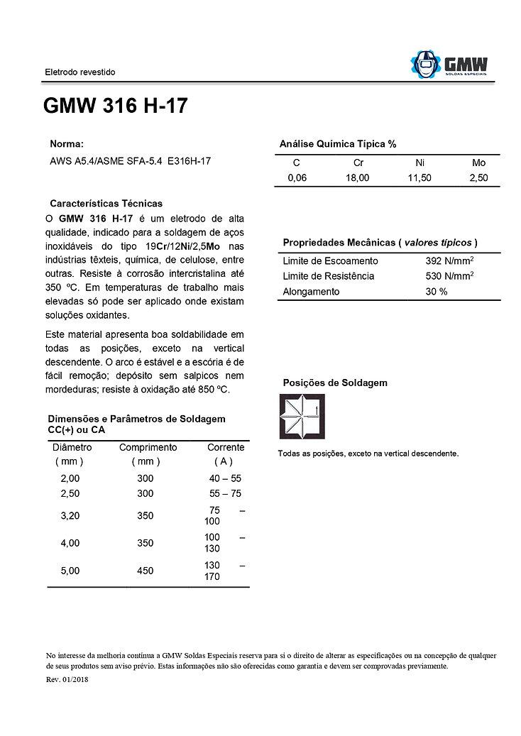 GMW 316 H-17  Rev. 01 2018 - ARIAL - PDF