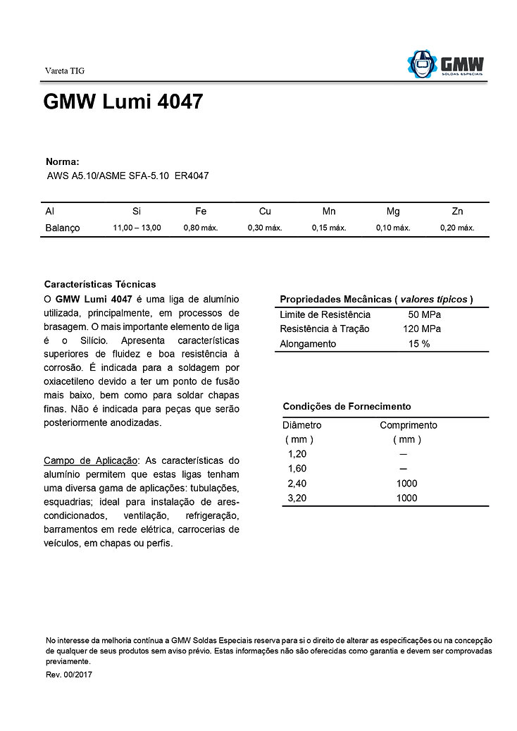 GMW Lumi 4047  Rev.00 2017 - Arial - PDF