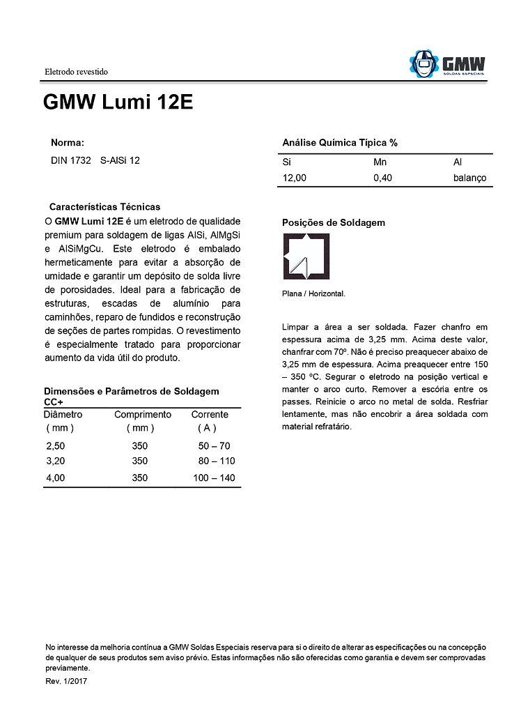 GMW Lumi 12E  Rev. 01 2017 - Arial - PDF