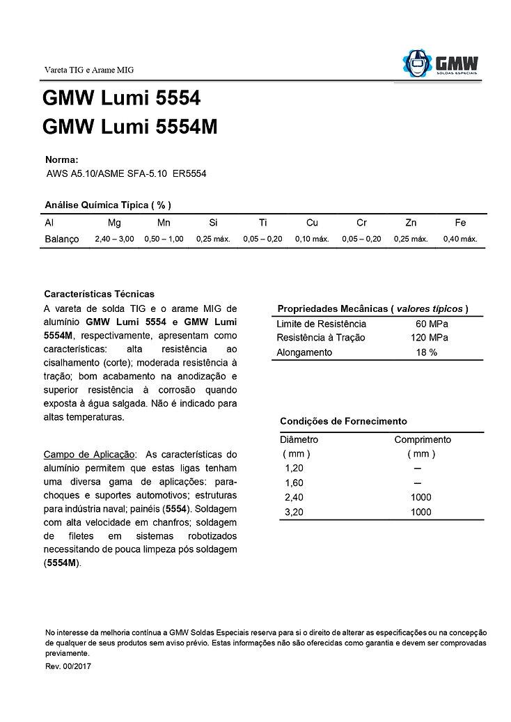 GMW Lumi 5554 e 5554M  Rev.00 2017 - Ari