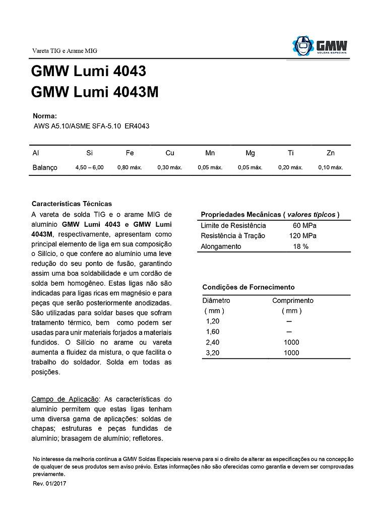 GMW Lumi 4043 e 4043M  Rev.01 2017 - Ari