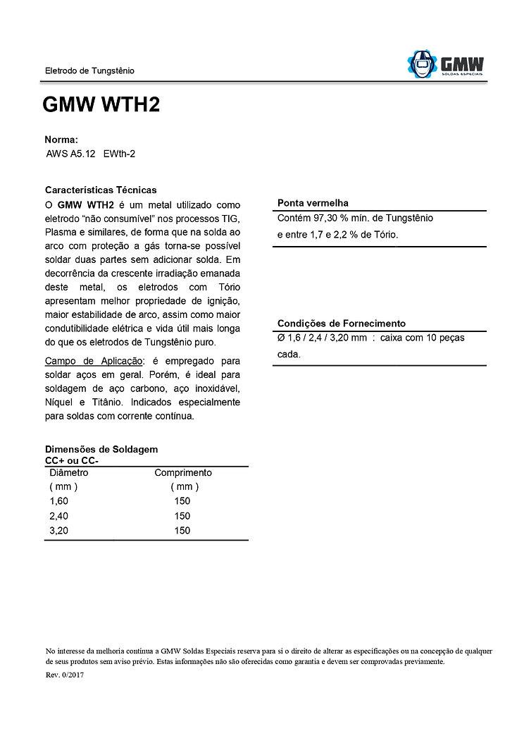 GMW_WTH2_Eletrodo_de_Tungstênio_com_Tóri
