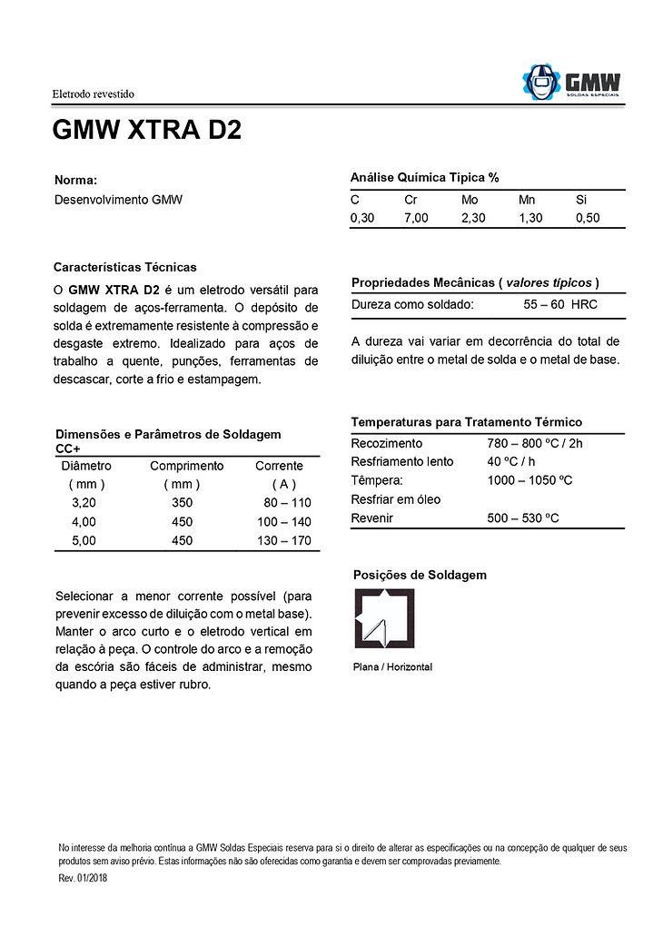 GMW XTRA D2  Rev. 01 2018 - Arial - PDF