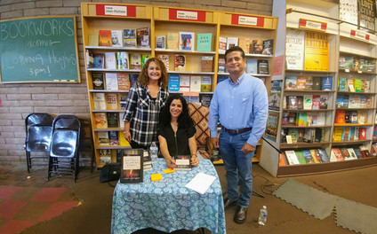 Reading and book signing
