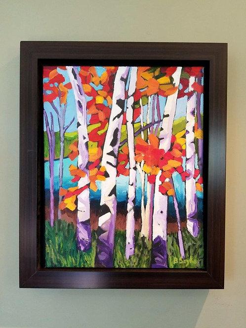Nature's Gift - Framed Original Oil Painting