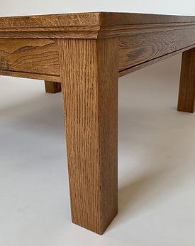 62 Screws custom dining table, coffee table, and office desk modern legs