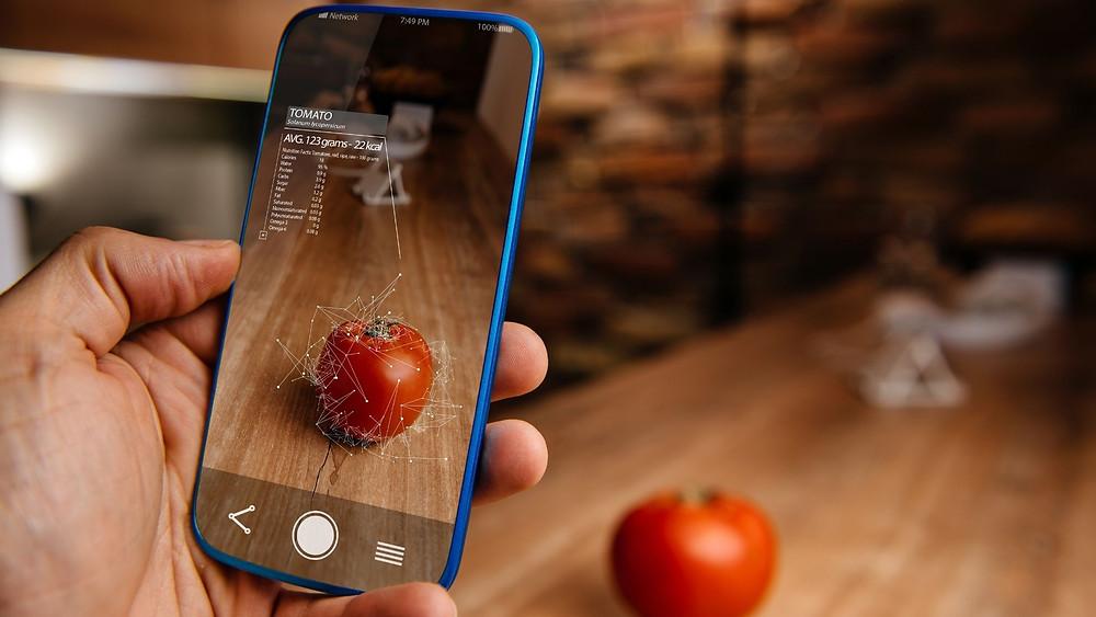 Computer Vision based mobile application