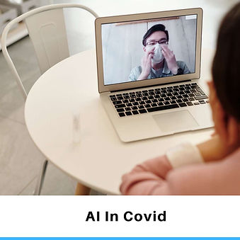 Artificial Intelligence Applications in covid