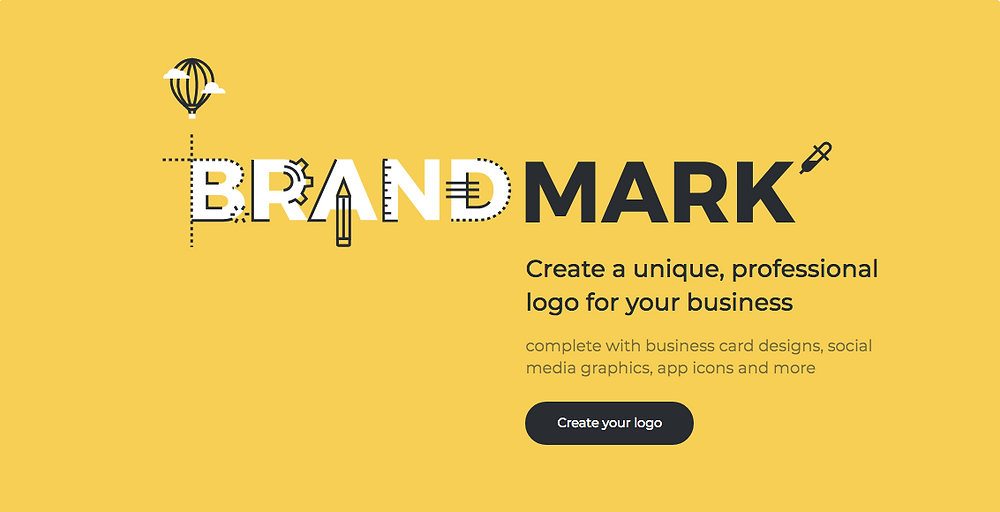 Brandmark.io creates logo using artificial intelligence
