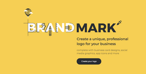 Brandmark.io creates logo using artificial intelligence