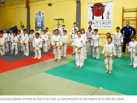 À Pont-de-Buis-lès-Quimerch, 25 jeunes judokas en stage à Pont-de-Buis