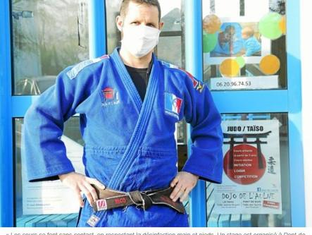 Reprise du judo difficile à gérer au Faou