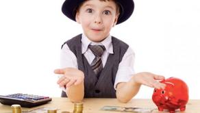La educación financiera para niños cambia su vida como adultos