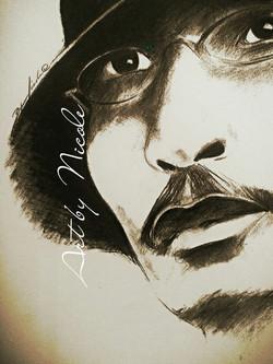 """Ty Cook"" - Portrait"