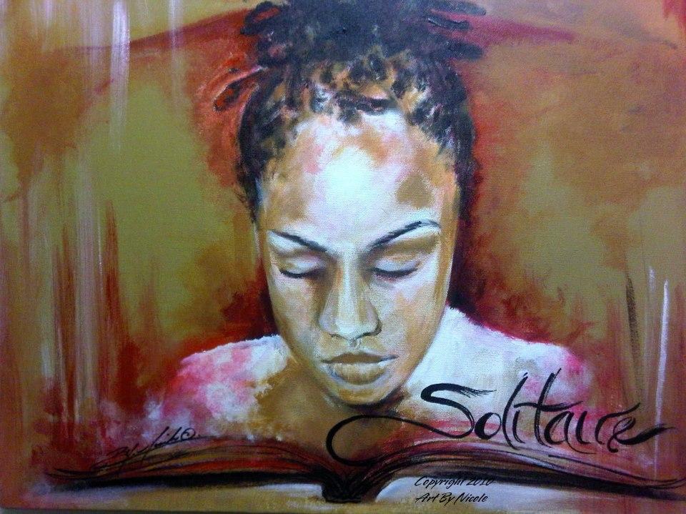 """Solitaire"" (Stephanie) Portrait"