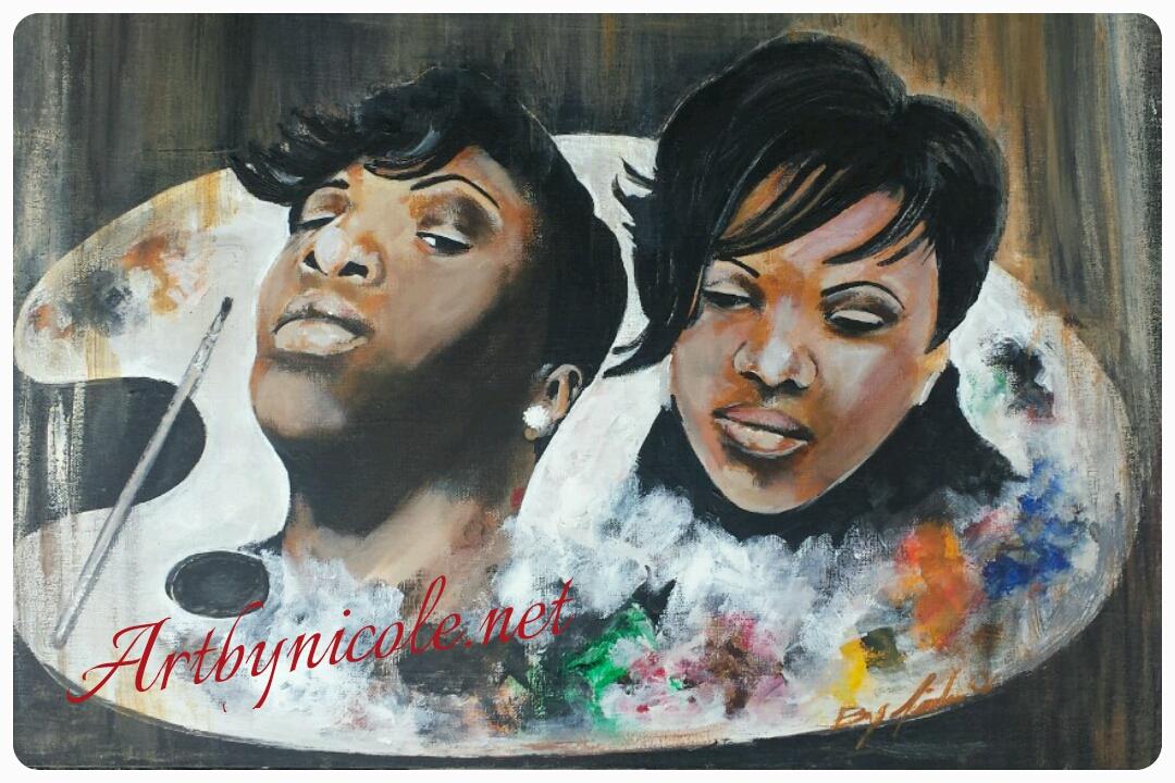 "Self Portrait ""Art of a Gemini"""