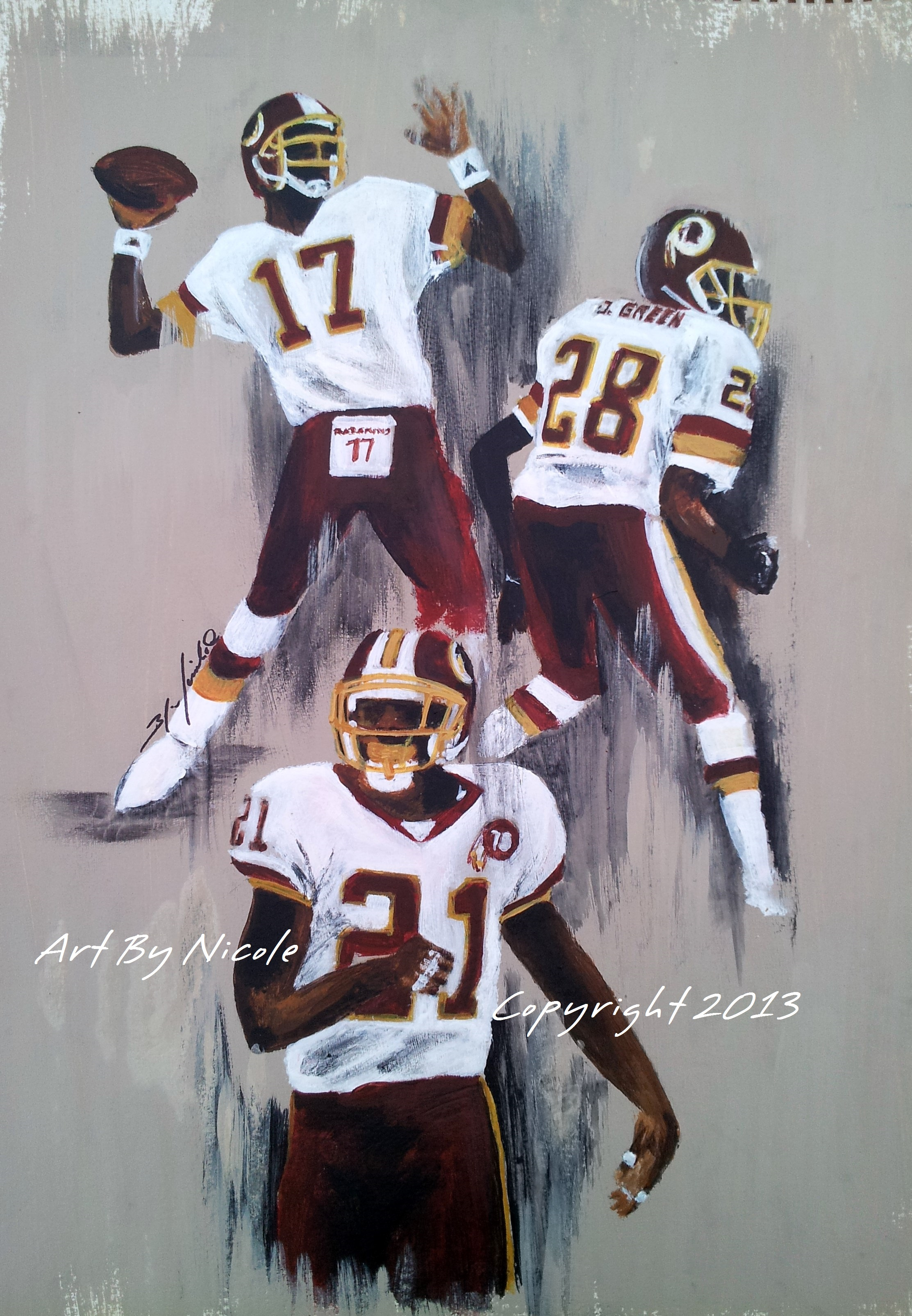 """""""The Redskins Salute"""""""