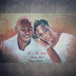 """""""Mr. & Mrs. Wicker"""" Portrait"""