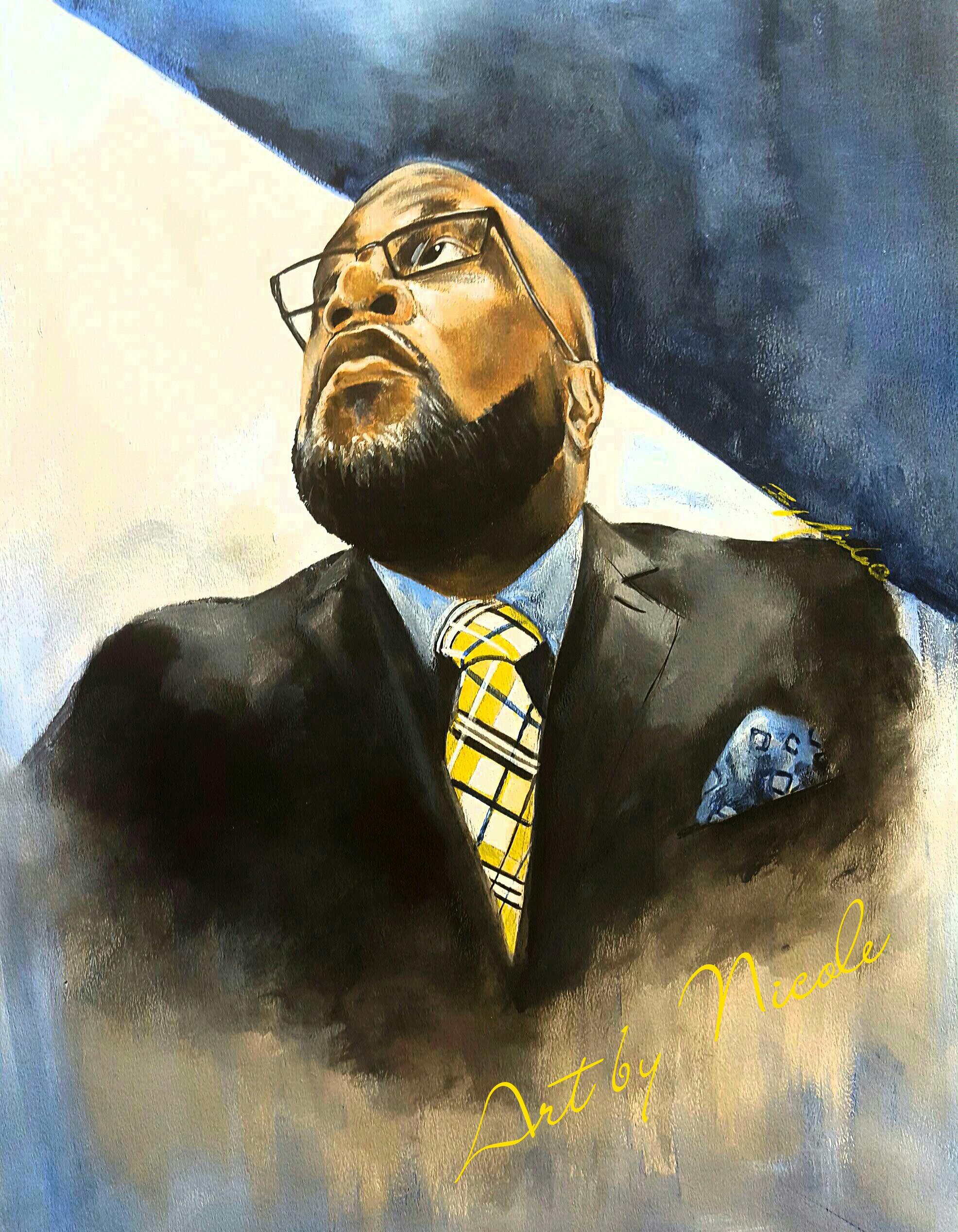 """""""Mr. Summers"""" - Portrait"""