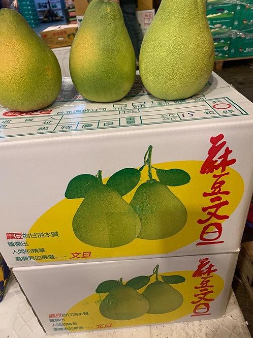 台灣皇牌 金柚文旦 $40/個