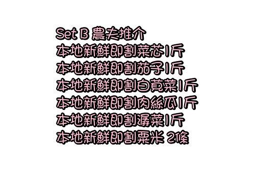 農夫推介 set B 21/6-23/6