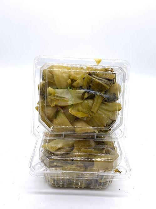 自家種及醃製鹹酸菜 $20/半斤 食過返尋味