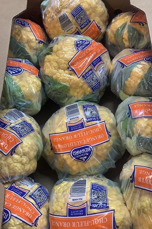 美國 黃色椰菜花