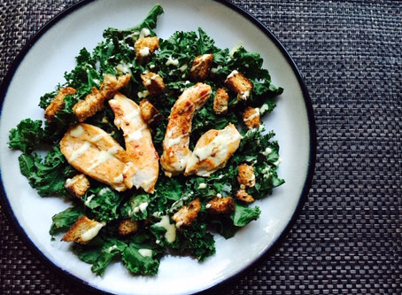 THE TOASTED KALE SALAD THAT ROCKED MY WORLD