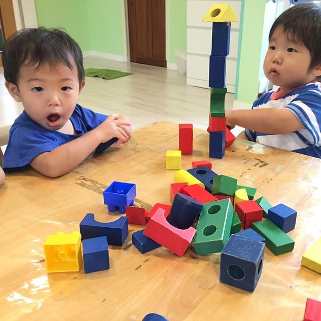 Building blocks at Pallies