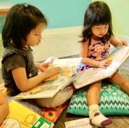 Reading at Pallies