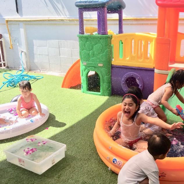 Water Play at Pallies