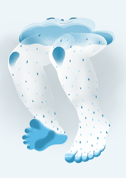 Daily Magyar Illustration Rain