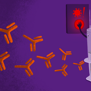 Editorial illustration for article: Truth or hoax, do Covid-19 vaccines work like gene therapy?