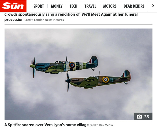 The Sun website 10-7-2020